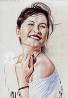 Tran Ha Uyen (Ballpoint Pen) by SongDuong