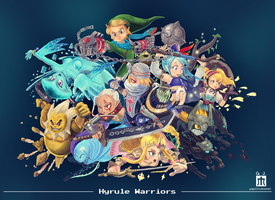 Warriors for Hyrule by Guigo2112