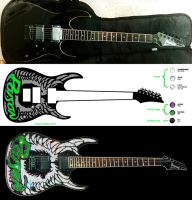 Swarovski Guitar - Poison by z0mbieparade