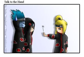 Naruto - Talk to the Hand by Warran