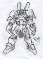 Robot by peret