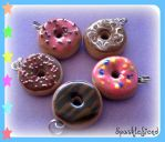 Donut Charms by Sparklefiend