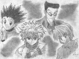 Hunter X Hunter by rajlorcan