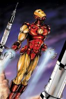 Iron Man- Saturn rockets by jlonnett