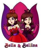 The Flowers Sisters by PrincessArtist2009