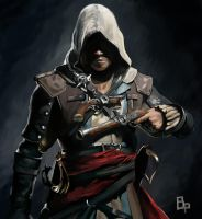 Edward Kenway~[Assassin's Creed IV: Black Flag] by BustePaul
