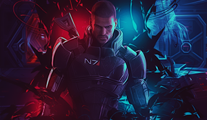 Mass Effect by RawrT-Rex