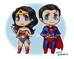 Wonder Woman and Superman by Kinky-chichi