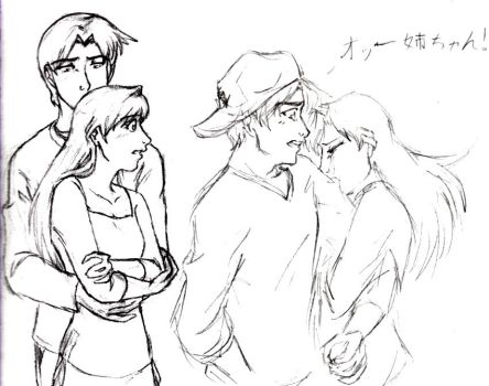 DC: Heiji and Ran angsties by pedal