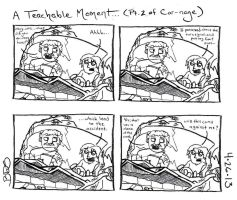 A Teachable Moment (Part 2 of Car-nage) by SometimesDrawings