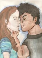 Bella and Jacob by Eveliien