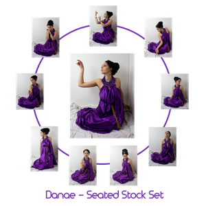 Danae - Seated stock Set