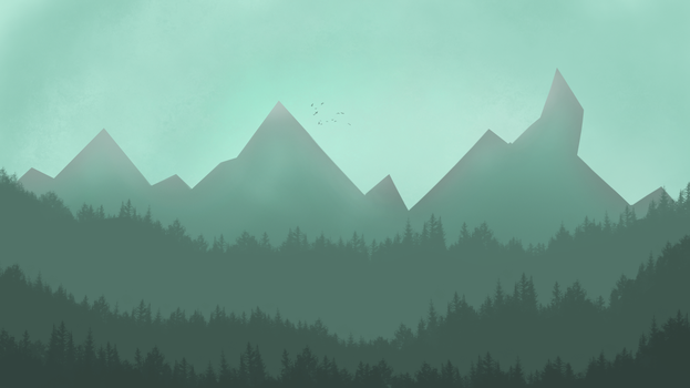 Firewatch LandScape by MissingPotato
