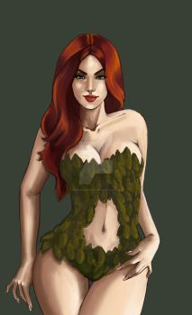 Poison Ivy by TheArtOfVero