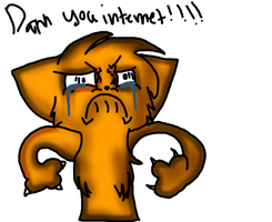 Darn you internet by Ask-Zenith-the-rabit