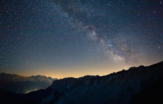 Milky Way from the Dolomites by FrozenWhisperx