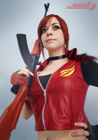 Claire Redfield - RE M3D by Queen-Stormcloak