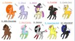 adoptables set #3 ~ halloween (closed) OTA by TotoroLoveingGirl