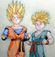 Goten and Trunks by RanCh000