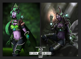 Draw This Again - Ysera Reborn 1 Year On by lolishandle