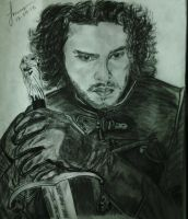 Jon Snow (Kit Harrington) by fprottoy