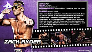 WWE Zack Ryder ID Wallpaper Widescreen by Timetravel6000v2