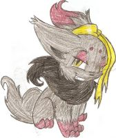 Ivory The Zorua by Marxie2132