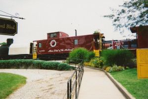 Northern Pacific Caboose by MSKM2001