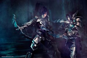 Diablo III - Demon Hunters by vaxzone