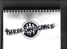 Three Days Grace Logo by JD6121
