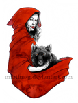 .Bloodred Ridin Hood. by Martina-G