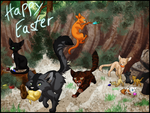 RQ - Warriors Easter Egg hunt by Ninchiru