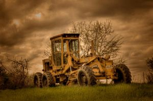 The Lonely Grader by o0xerog0o