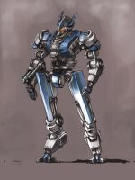 Commission - Fruxie's Mecha 2 by ModalMechanica
