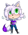 Sparkle the Cat Chibi :comm: by Blue-Chica
