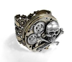 Steampunk jewel by Edmdesigns by Gyaru-neverdie