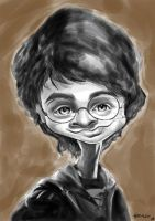 Harry Potter Sketch by manohead