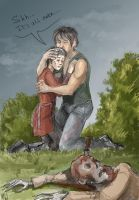 Caryl sketch by MadHatters-Wife