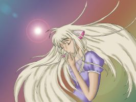 First Chobits Wallpaper by Poofiemus