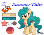 Summer Tides mini reference sheet by xXNovaNepsXx