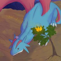 Salamence by FrightFox