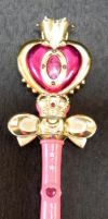 Sailor Moon Spiral Heart Wand by Super-Moogles