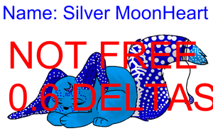 Colored Pose Silver MoonHeart NOT FREE by Chat-Land-Poses