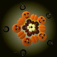 Happy Halloween Smiley for Luca by PaMonk