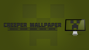 Minecraft Creeper Wallpaper by LiamWise