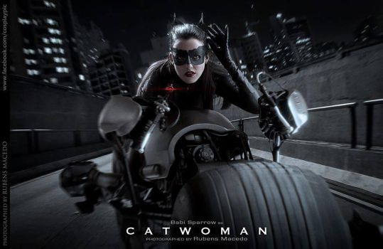 Catwoman - Selina Kyle - Anne Hathaway - TDKRN by BabiSparrow