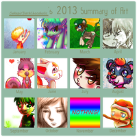 2013 Summary of Art by Oekapi