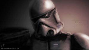 Stormtrooper by DarthTemoc