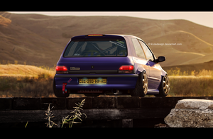 Renault Clio mk1 'Weekend Warrior' by KruLeDesign