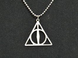 Deathly Hallows Pendant by SomethingForEveryone
